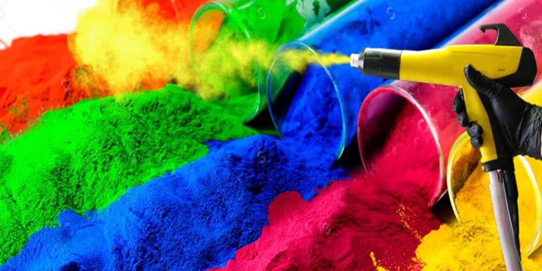 Покраска металлических изделий полимерной краской