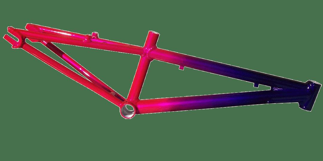 Покраска велосипедных рам