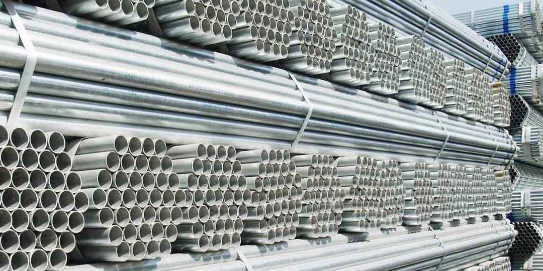 Оцинкованные металлические трубы