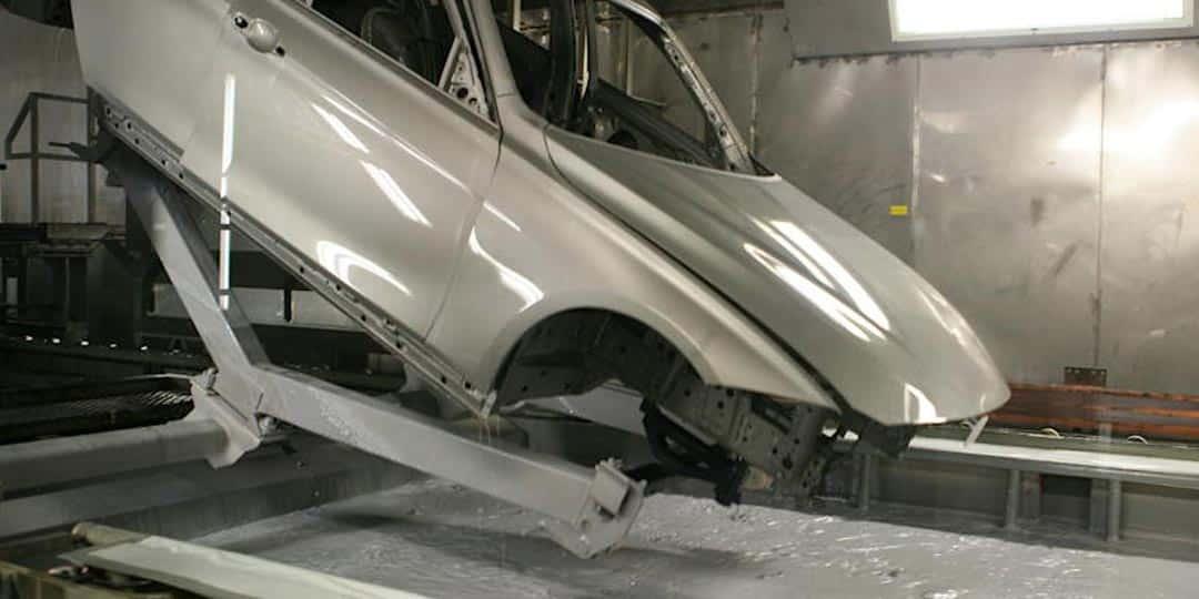 Обработка кузова автомобиля цинком