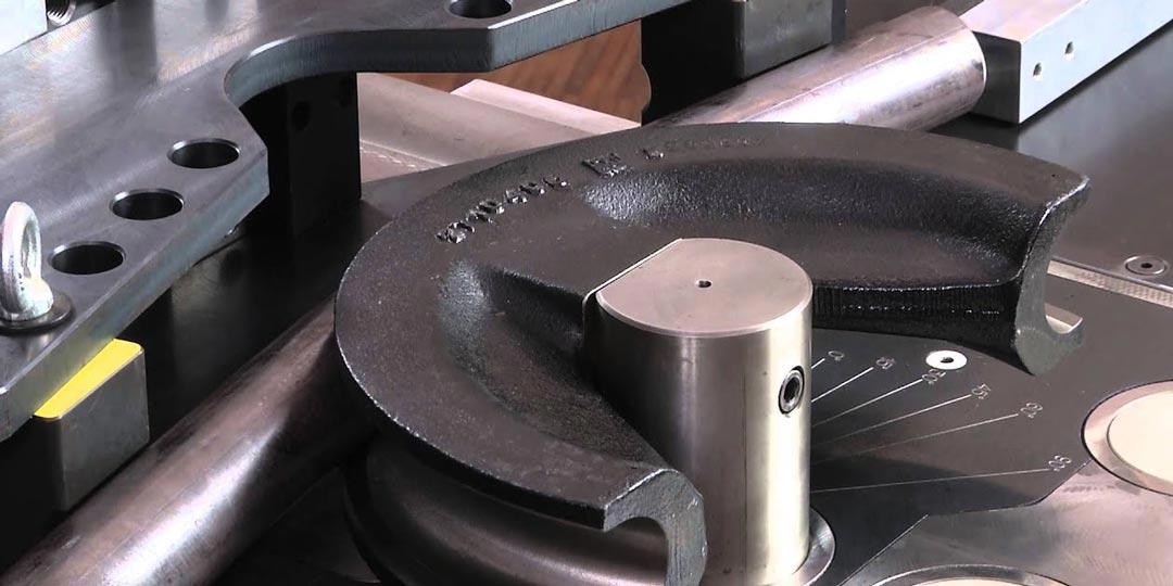 Гибка трубы из стали