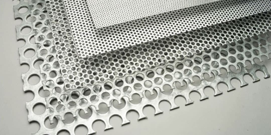 Пробивка панелей из алюминия